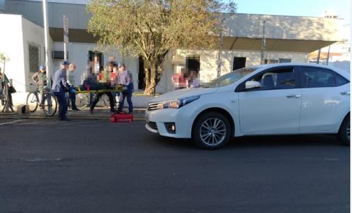 Ciclista é atropelado na cidade de União da Vitória