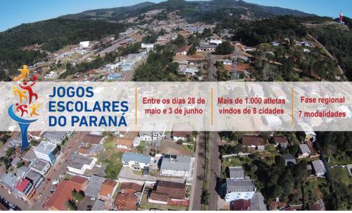 Bituruna se prepara para receber atletas dos Jogos Escolares do Paraná