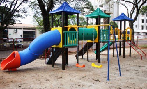 Serão construídos novos parques infantis em União da Vitória