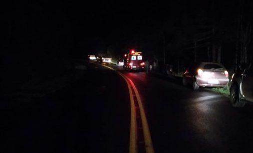 Caminhão sai de pista e deixa um morto na PR 447