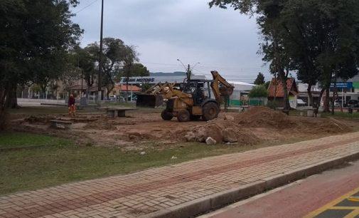 Prefeitura de UVA realiza melhorias em parques da cidade