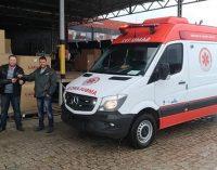 SAMU de Matos Costas recebe nova ambulância