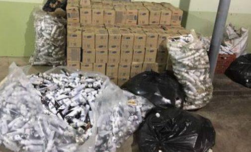 Policiais de São Mateus do Sul recuperam produtos furtados na BR 376