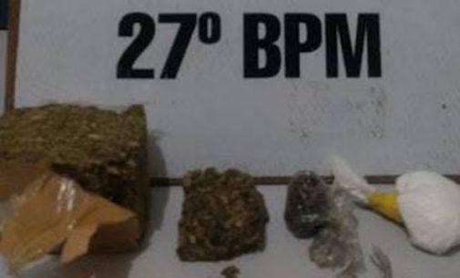 Menor de idade é apreendido em Bituruna por tráfico de drogas