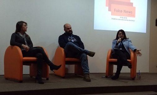 Acadêmicos da Uniuv debatem sobre Fake News em Foco