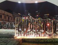 Ciclistas fazem homenagem para o amigo Eliéser Lourenzzetti