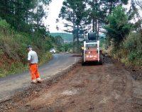 DER inicia obra na Estrada do Santana