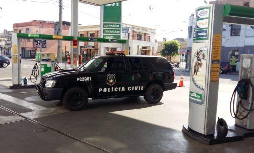 DIC faz operação nos Postos de Combustíveis de PU