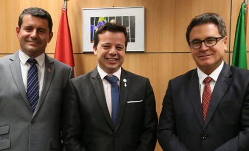 Ministro do Turismo recebe comitiva de Porto União