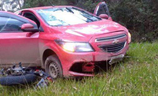 Motociclista morre na PR 446 em Bituruna