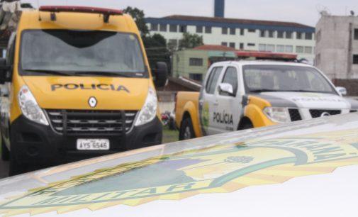 Policiais de Cruz Machado detém indivíduos por ameaça