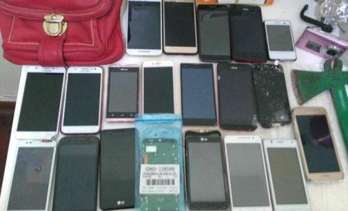 Policiais de São Mateus do Sul recuperam celulares furtados