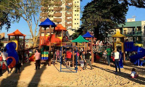 União da Vitória possui mais quatro novos parques infantis