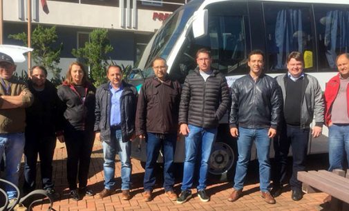 Saúde de Bituruna recebe novo ônibus