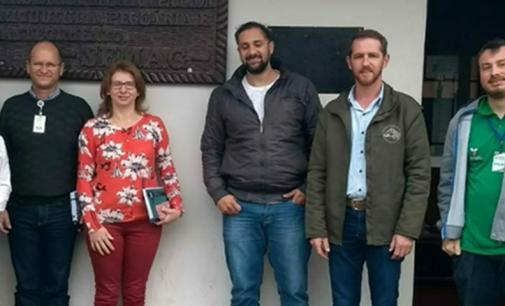 Piscicultura de UVA recebe visitantes de São Mateus
