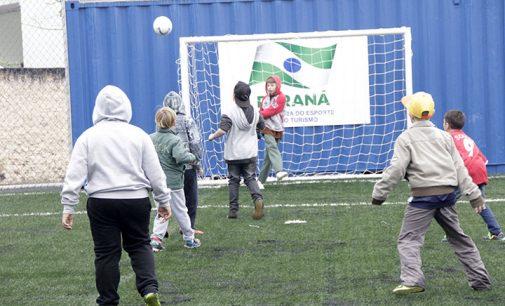 União da Vitória ganha duas Mini Arenas