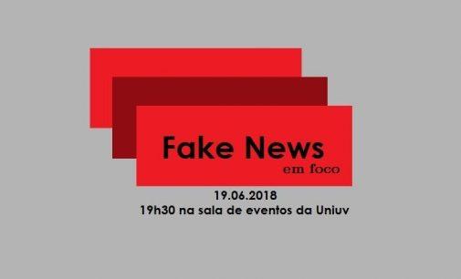 Uniuv debate Fake News em foco
