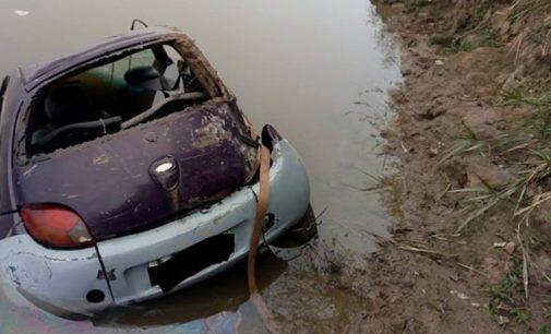 Veículo é localizado dentro do rio Iguaçu em UVA