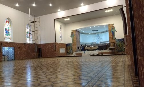 Comunidade da Matriz de Porto União recebe revitalização da Igreja