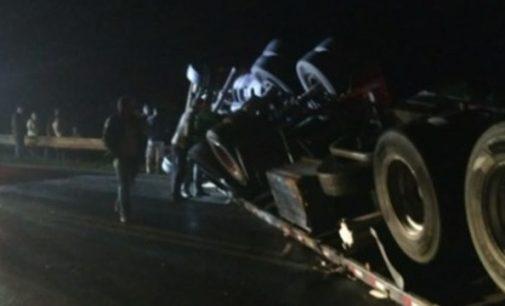 Caminhoneiro morre em acidente na BR 153