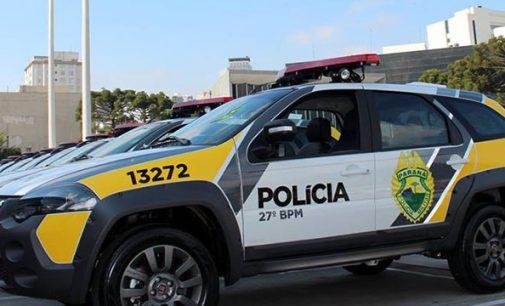 27º BPM recebe duas novas viaturas em Curitiba