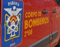 Bombeiros de UVA atendem caso de lesão corporal