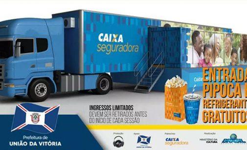 """Carreta: """"Cinema é pra você, sim!"""", já está em União da Vitória"""