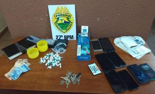Cinco pessoas são detidas em Mallet por tráfico de drogas