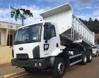 General Carneiro recebe novo caminhão