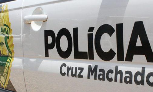 Homem é agredido com facão em Cruz Machado