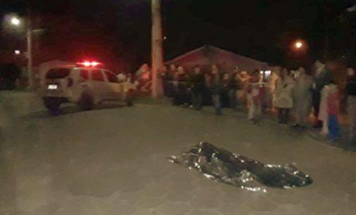 Homem é assassinado com três tiros em Porto União