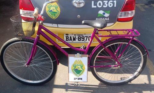 Homem é preso, após furtar bicicleta em supermercado