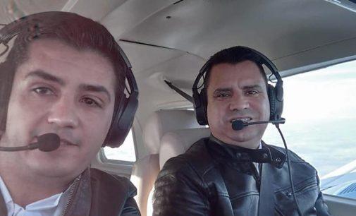 Identificados o piloto e copiloto do acidente em Paula Freitas