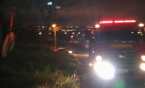 Incêndio destrói residência no bairro São Braz