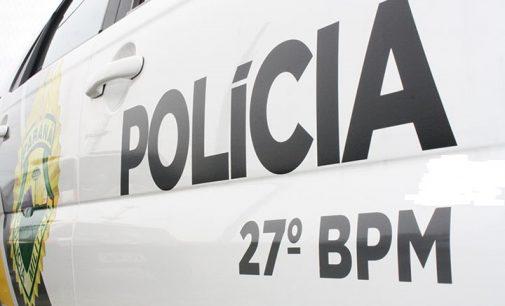 Policiais de Mallet atendem caso de vias de fato entre vizinhos