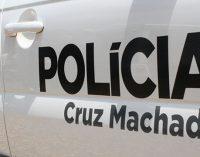 Policiais investigam furto de moto em Cruz Machado