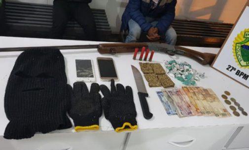 Ponto de tráfico de drogas é fechado em General Carneiro