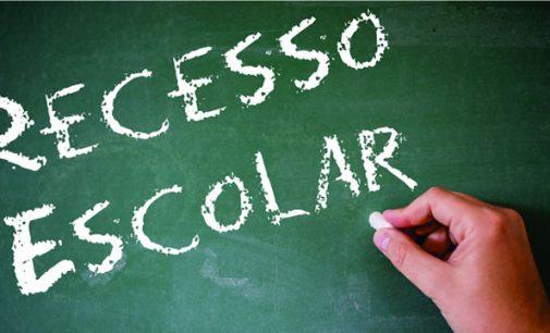 Recesso das Escolas Estaduais de SC inicia segunda-feira, 16