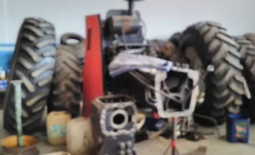Polícia Civil faz fiscalização em oficinas mecânicas de tratores