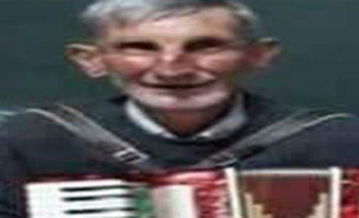 Senhor Alois Blasik está desaparecido na região de Paulo Frontin