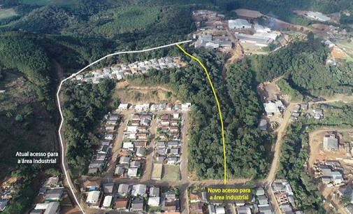Bituruna inicia processo licitatório do novo acesso à área industrial
