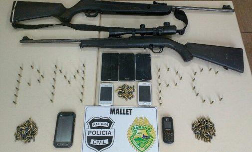 Caso trator: Polícia Civil de Mallet cumpre mandado busca e apreensão