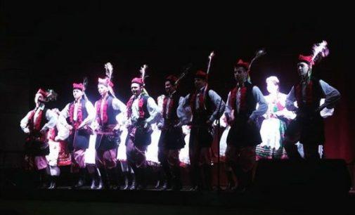 Grupo Folclórico Polonês se apresenta em Cruz Machado