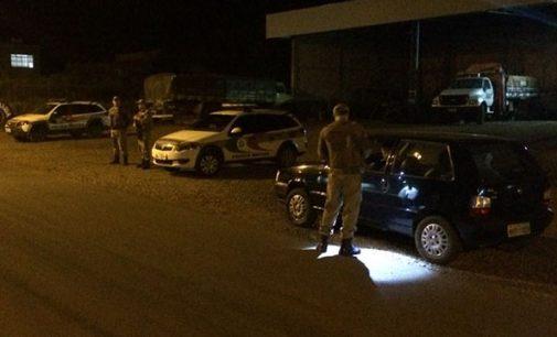 Polícia Militar faz Operação Preventiva em Irineópolis
