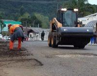 Quatro ruas de General Carneiro recebem ação tapa buraco