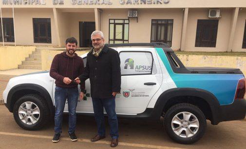 Saúde de General Carneiro recebe uma Pick-Up 0km