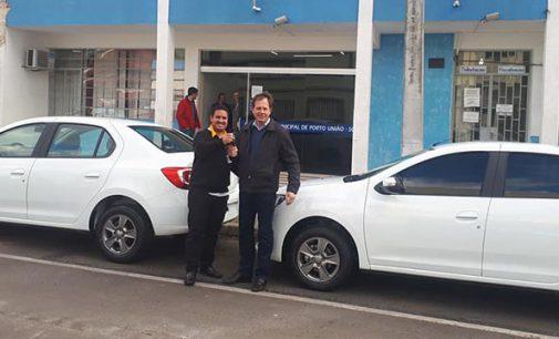 Saúde e Ação Social de Porto União recebem novos veículos