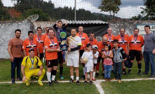 Vila Mariana é campeã no Futebol Sete Veteranos de Bituruna