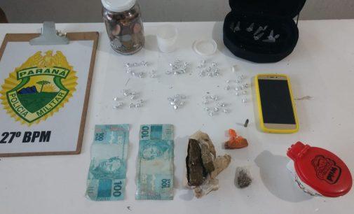 Família é detida por venda de drogas no Sagrada Família