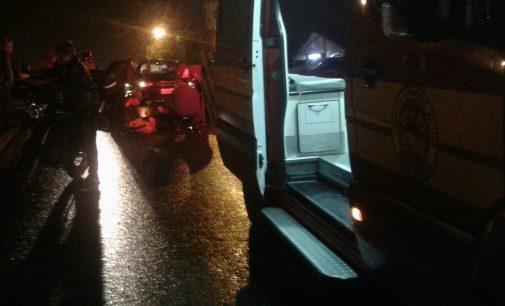 Pedestre é atropelada por motociclista em UVA